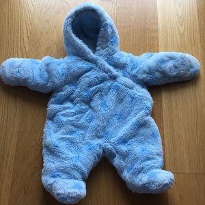 Newborn baby winter-suit. Size newborn